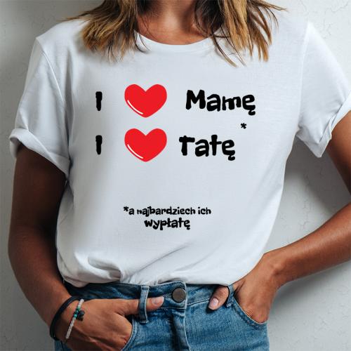T-shirt Lady DTG | I ❤...