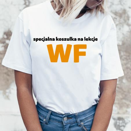 T-shirt Lady DTG | Specjalna koszulka na lekcje WF
