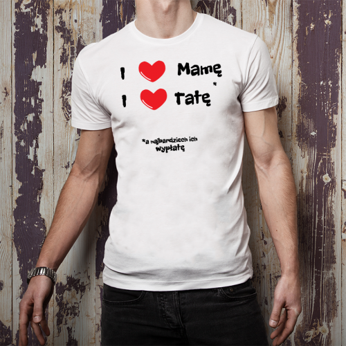 T-shirt Oversize DTG |  I ❤...