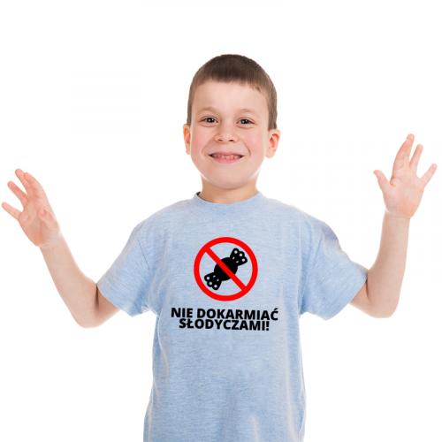 T-shirt Kids Szary | Nie...