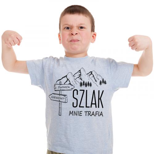 T-shirt Kids Szary   Szlak...