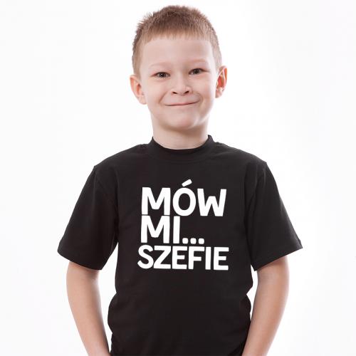 T-shirt Kids Czarny | Mów...