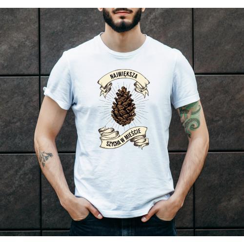 T-shirt oversize DTG Największa szycha w mieście 2