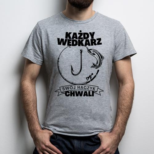 T-shirt Oversize Szara |...