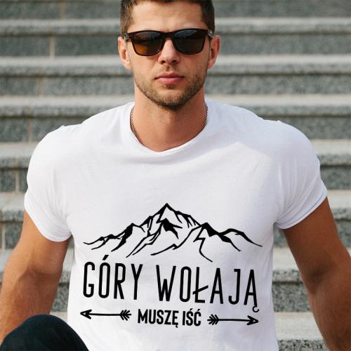 T-shirt oversize DTG Góry...