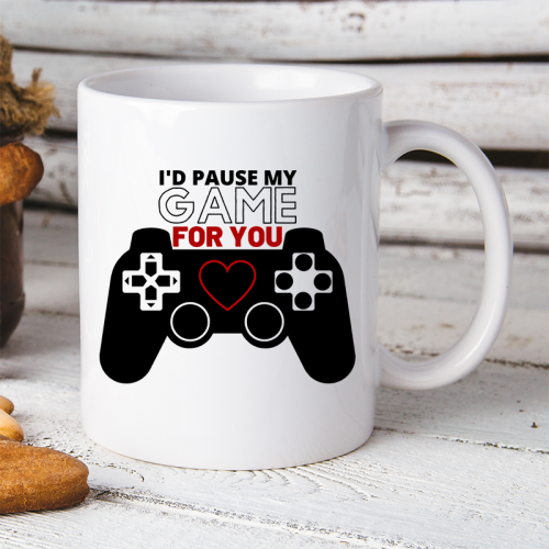 Kubek   I'D PAUSE MY GAME...