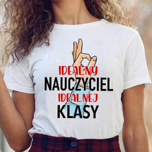 T-shirt lady DTG Idealny...