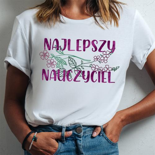 T-shirt lady DTG Najlepszy...