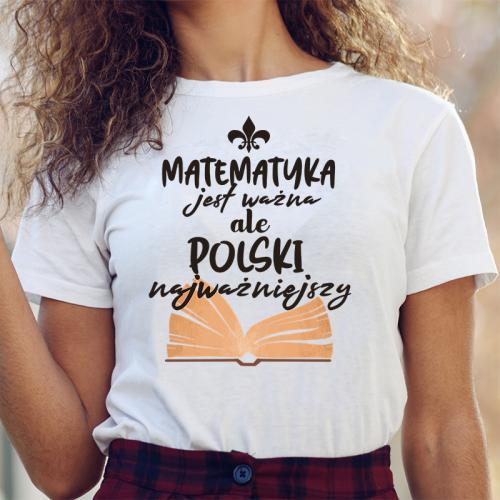 T-shirt lady DTG Matematyka...