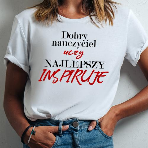 T-shirt lady DTG Dobry...