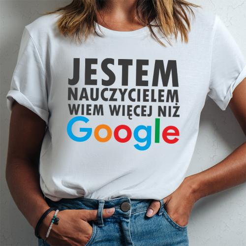 T-shirt lady DTG Jestem...