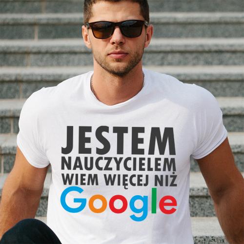 T-shirt oversize DTG Jestem...