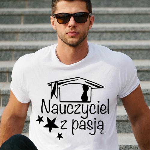 T-shirt oversize BIAŁY...