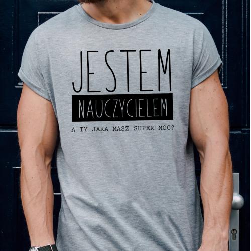 T-shirt oversize Jestem...