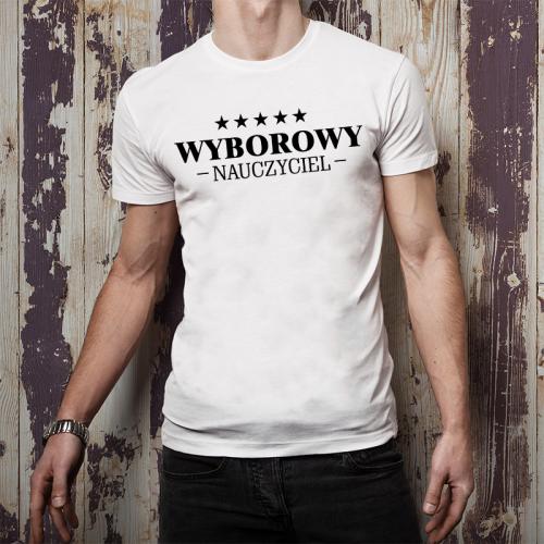 T-shirt oversize Wyborowy...