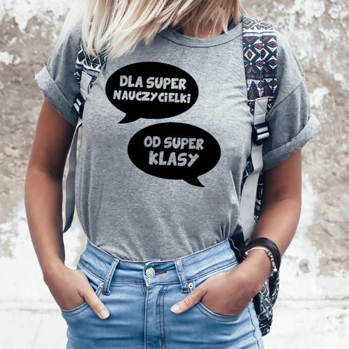 T-shirt lady OD SUPER KLASY