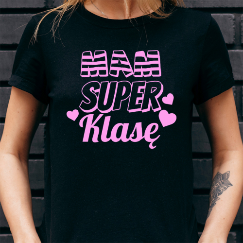 T-shirt Lady | Mam Super Klasę