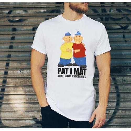 T-shirt oversize DTG wychowała mnie ulica