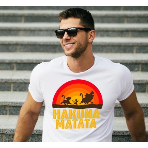 T-shirt oversize DTG Hakuna...