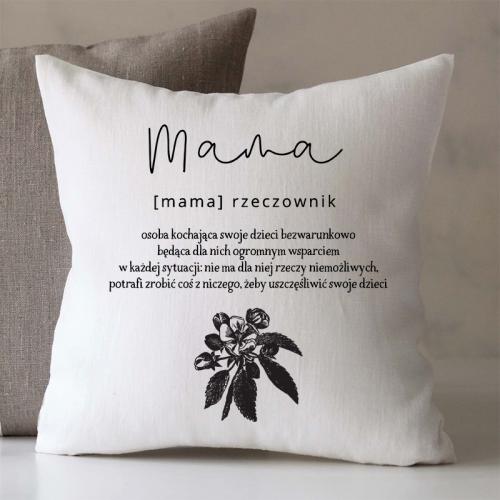Poduszka   MAMA - RZECZOWNIK
